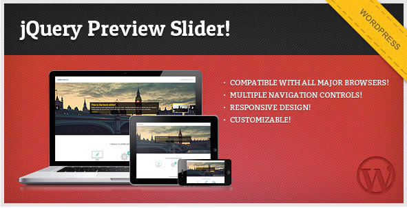 jQuery Preview Slider - for WordPress