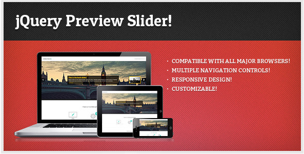 jQuery Preview Slider