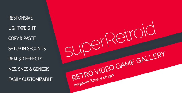 superRetroid - Retro Video Game Galleries