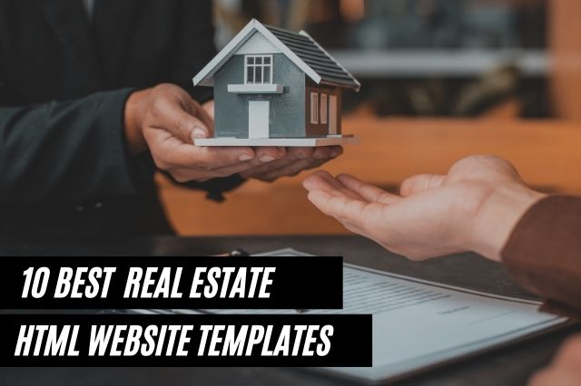 Best Real Estate HTML Website Templates