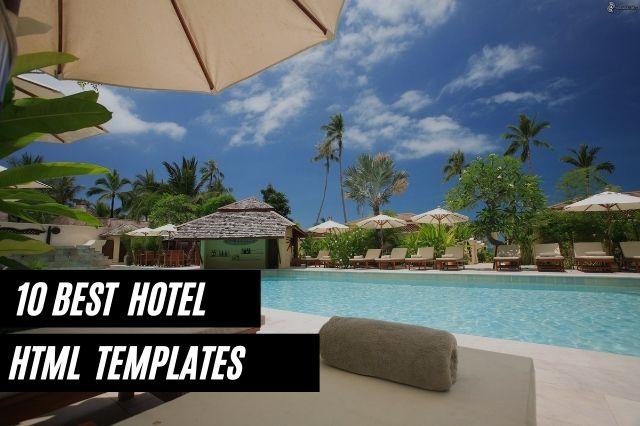 Best Hotel HTML Website Templates