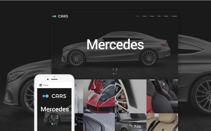 Cars - Car Dealer Joomla Template