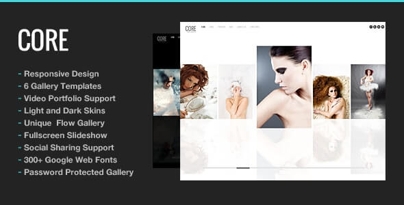 Core Photography Theme For WordPress