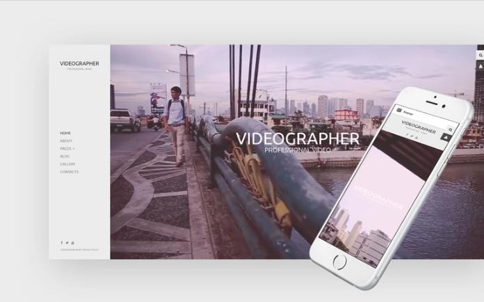 Videographer Responsive Joomla Template