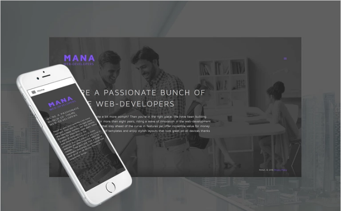 Web Development Responsive Joomla Template