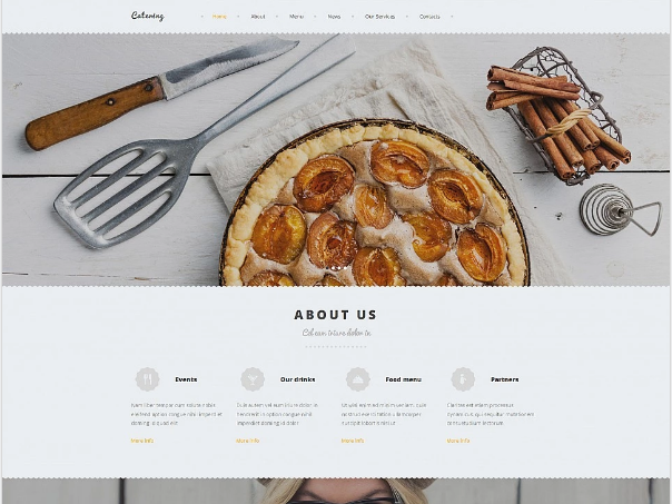 Food Moto CMS Templates