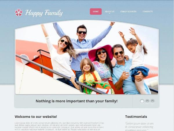 Family Moto CMS Templates