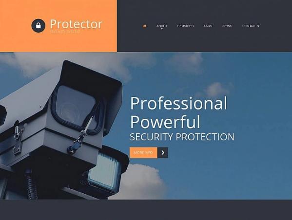 Security Moto CMS Templates