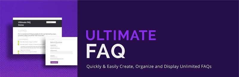 Ultimate FAQ Free WordPress FAQ Plugin