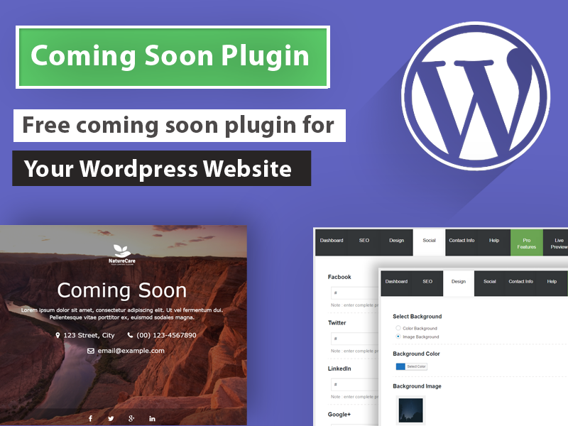 Coming Soon Wp Plugin Free Download For Wordpress
