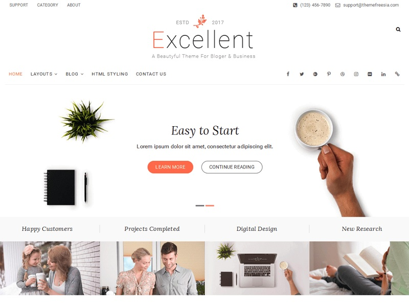 Excellent best Free WordPress Themes