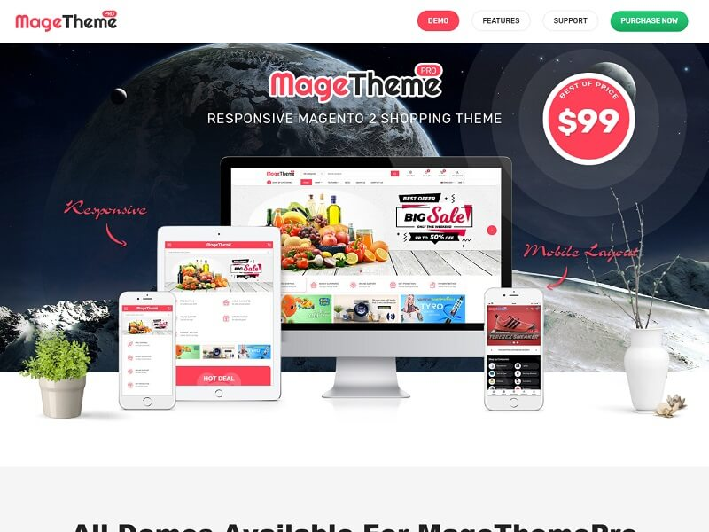 MageThemePRO Best Magento Themes