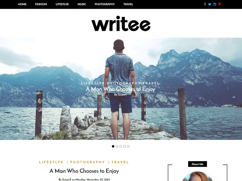 Writee best WordPress Themes