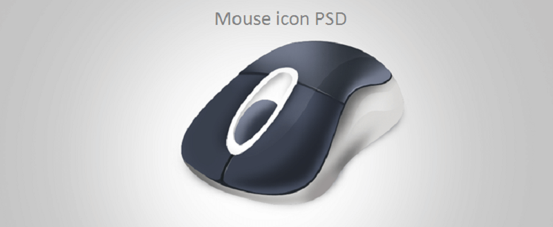 Download Free Mouse Icon PSD
