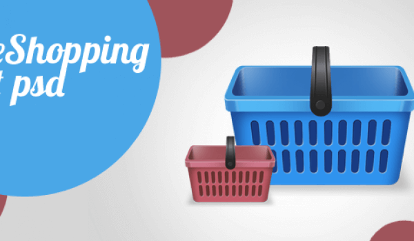 Free PSD Shopping Cart Icon