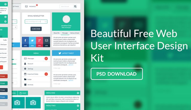 Free Web User Interface Design Kit