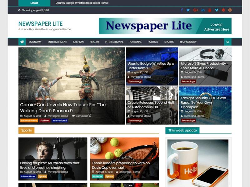 Newspaper Lite