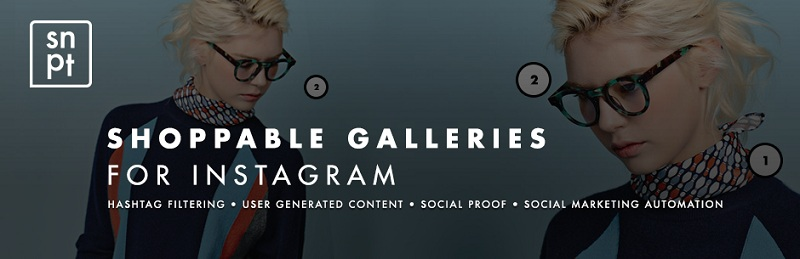 Shoppable galleries for Instagram
