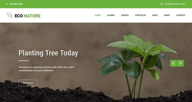 Free Environmental WordPress Themes