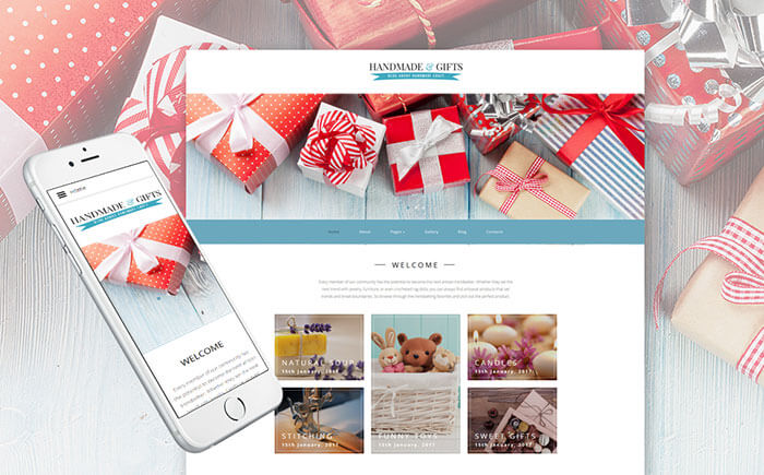 Holiday and Gifts Templates