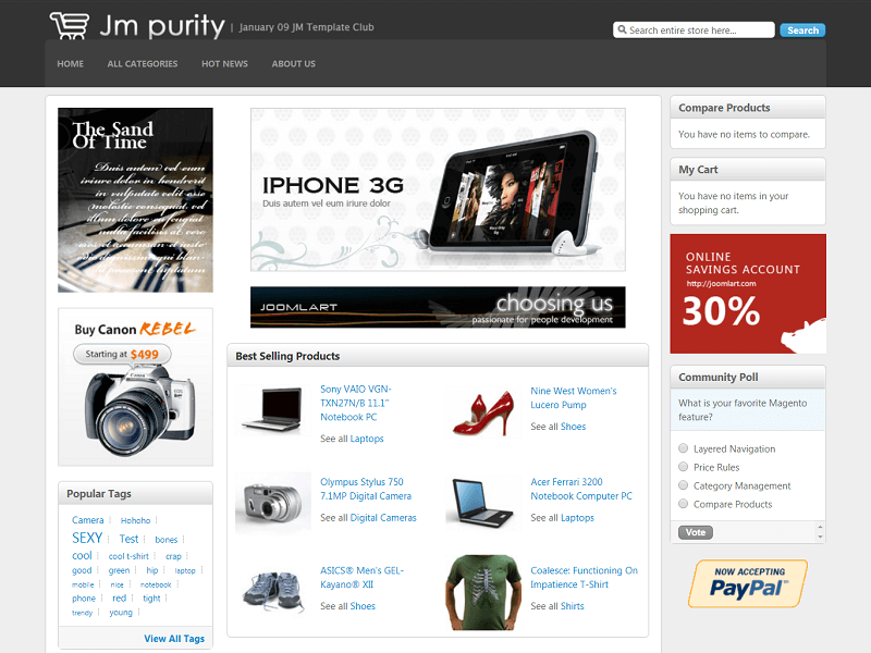 Purity Magento Themes