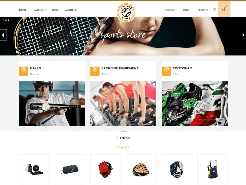 Sport Store Free Shopify Themes