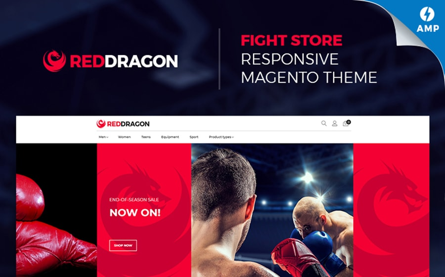 RedDragon TemplateMonster Themes on March