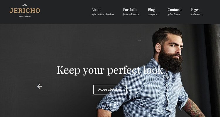 Masculine WordPress Themes