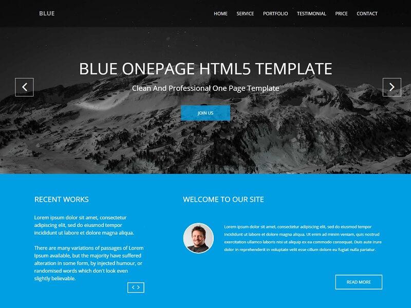 Portal Website Templates 7