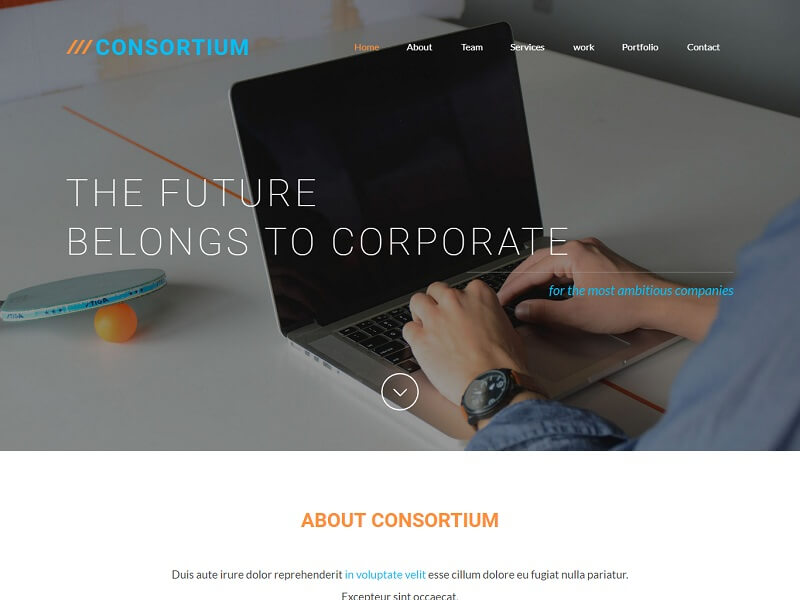 Free Corporate HTML Website Templates