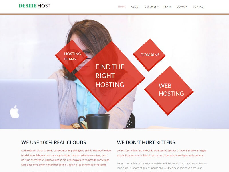 Free Hosting HTML Website Templates