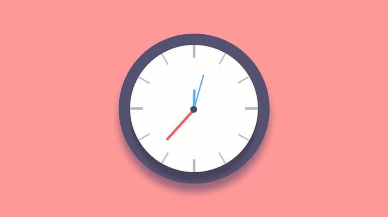 JS + CSS Clock