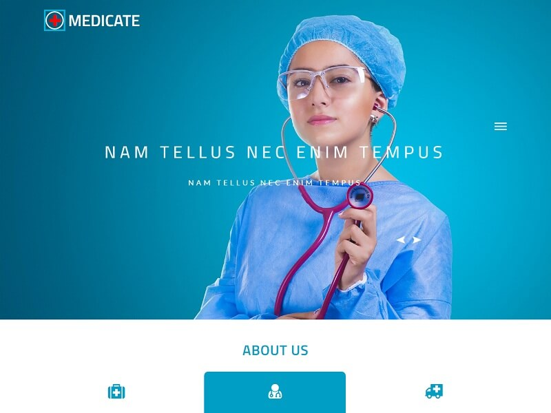 Free Medical HTML Website Templates