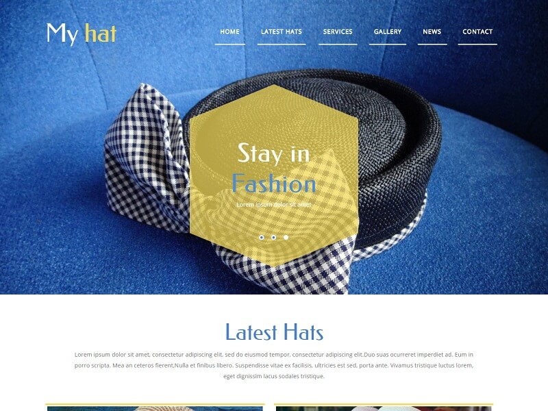Free Fashion HTML Website Templates