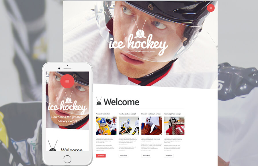 Sports Blog Masculine WordPress Themes
