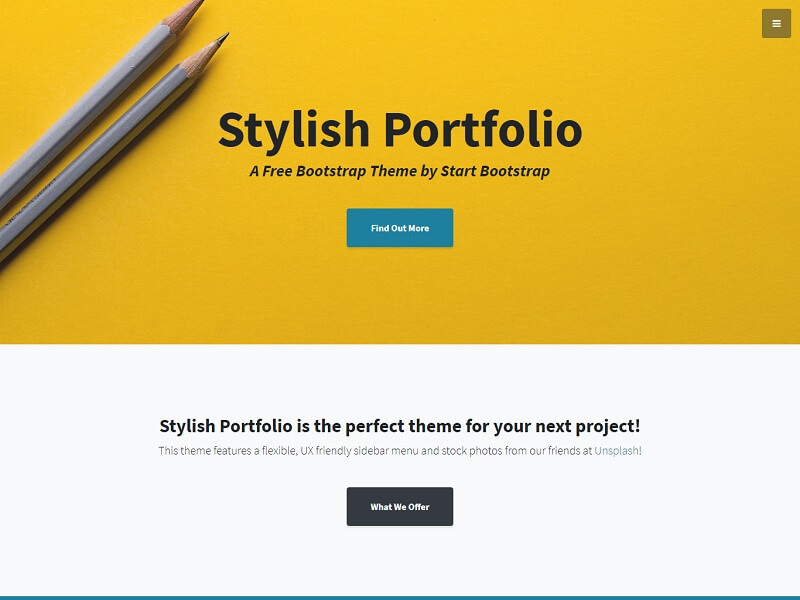 Stylish Portfolio