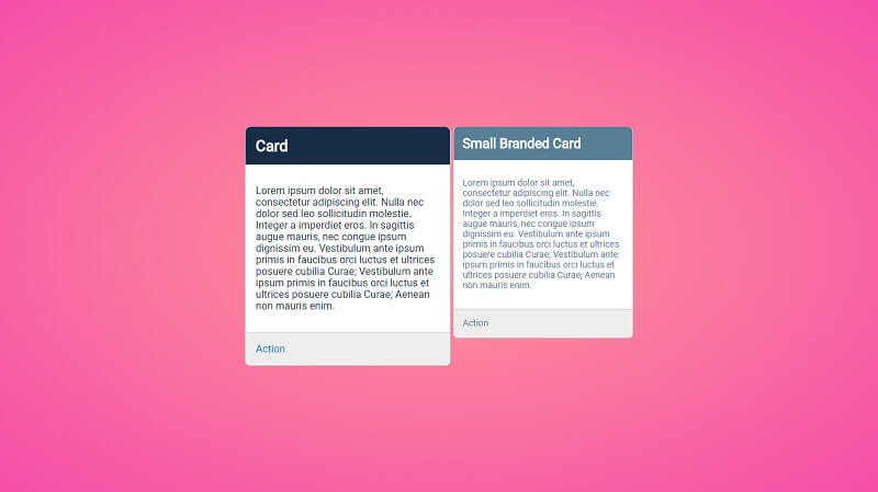 Utilizing the 'C' in CSS - Cards