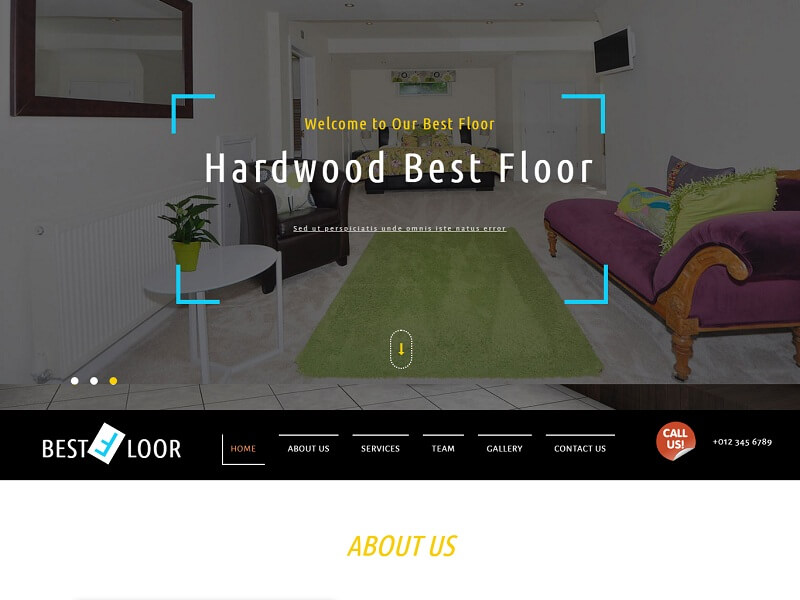 Best Floor Free HTML Website Templates