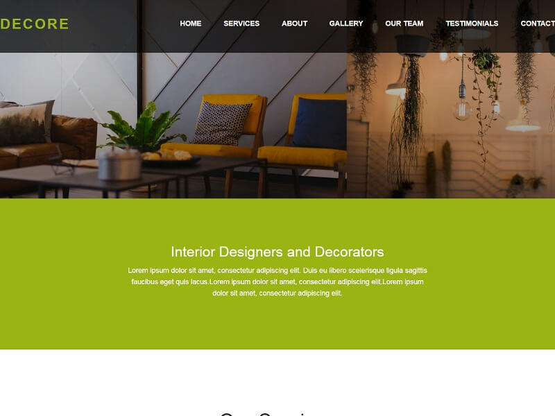 Free Bootstrap HTML Website Templates