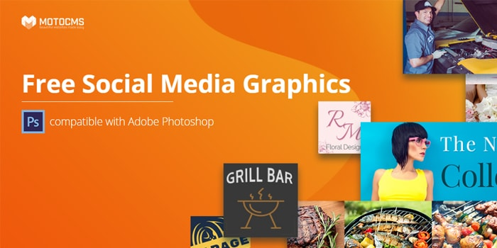 Free Social Media Graphics Templates Package