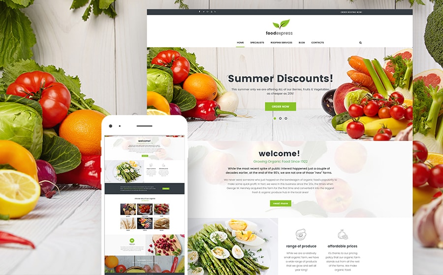 Best WordPress Agricultural Business Themes