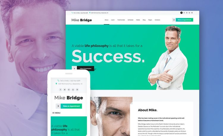 Life Coach WordPress Themes