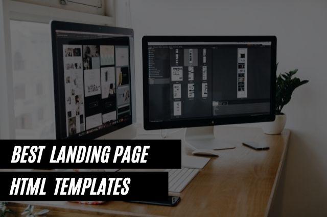 Best Landing Page HTML Website Templates