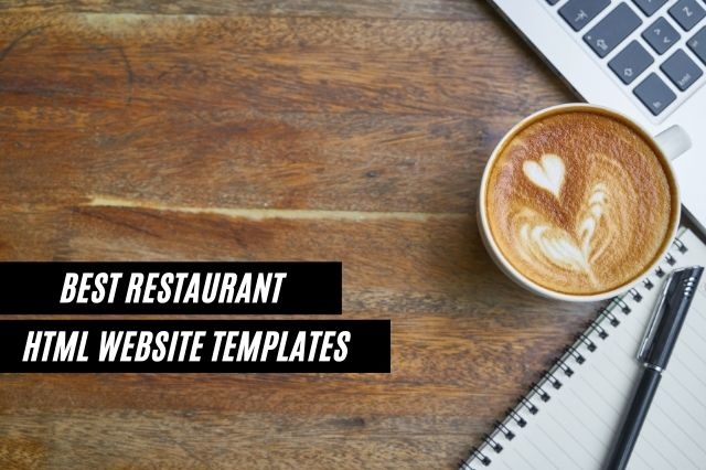 Best Restaurant HTML Website Templates