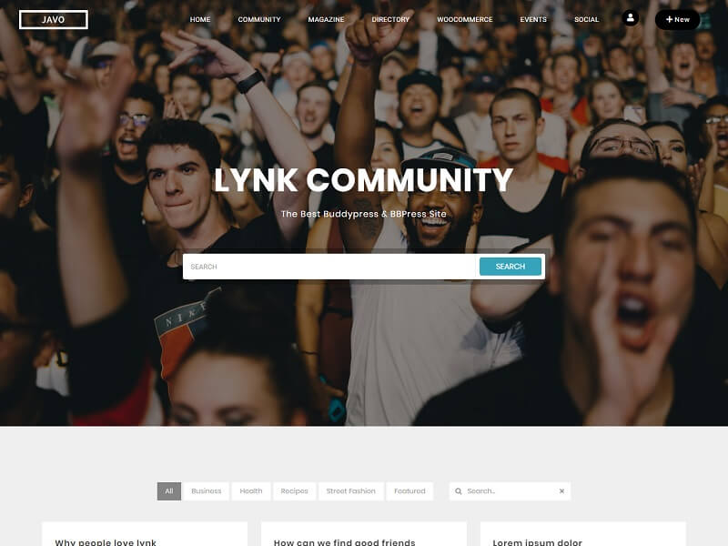 Lynk bbpress WordPress Themes