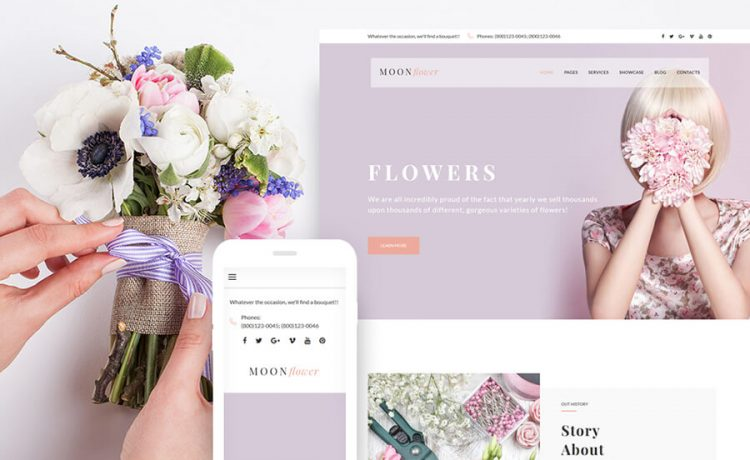 Flowers WordPress Themes