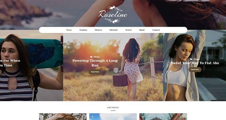 Blogging WordPress Themes