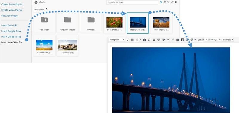 Embed OneDrive Image