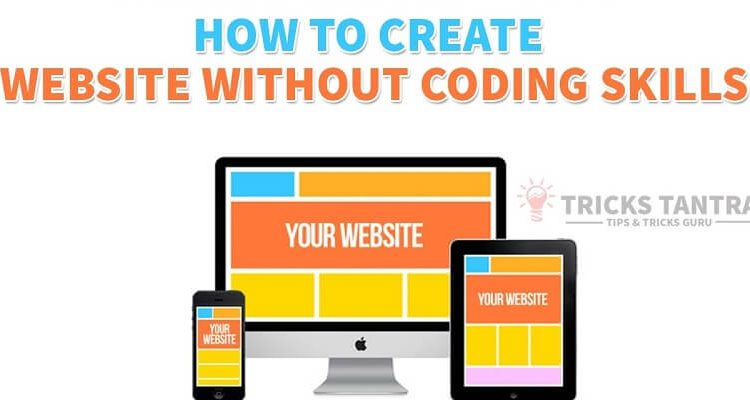 Create a Website without Skills of Coding