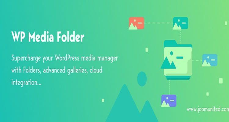 WordPress folders in media library